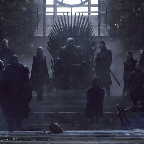 artstation game of thrones the night king wins