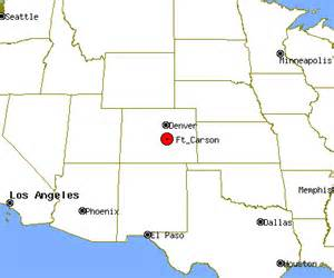 fort carson colorado map ft carson profile ft carson co population crime map