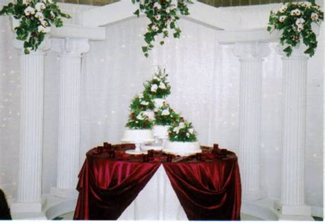 cake table backdrop daranesha s blue wedding flowers5 as you can see we