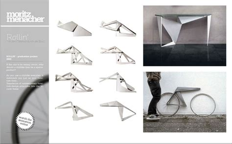 Origami Concept - three student design projects bicycle design