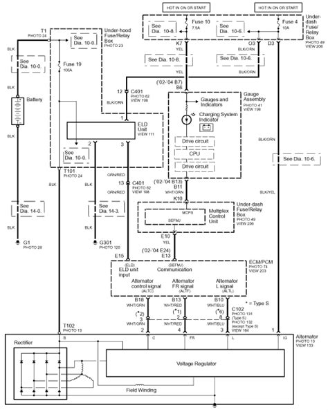 2003 acura rsx wiring diagram torzone org