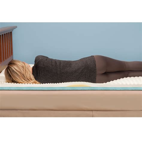 Support Mattress For Back by The Lumbar Supporting Memory Foam Mattress Pad