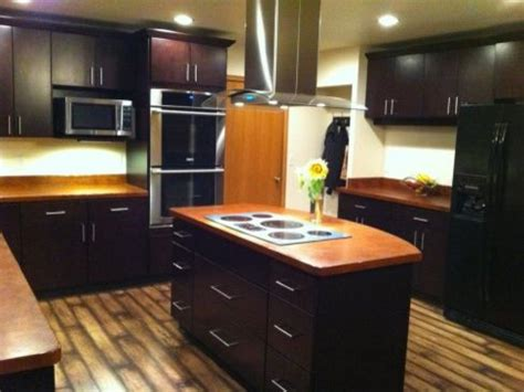 king kitchen cabinets dark brown kitchen cabinets tribecca door style