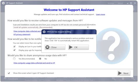 hp envy hp support assistant is dead hp support forum 2185483