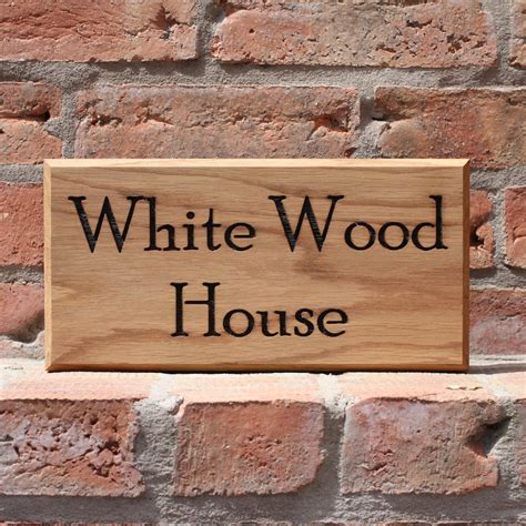 Handmade House Signs - personalised bespoke handmade door number house sign by
