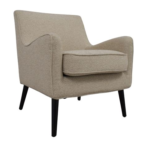 Second Armchair by 62 West Elm West Elm Beige Book Nook Reading