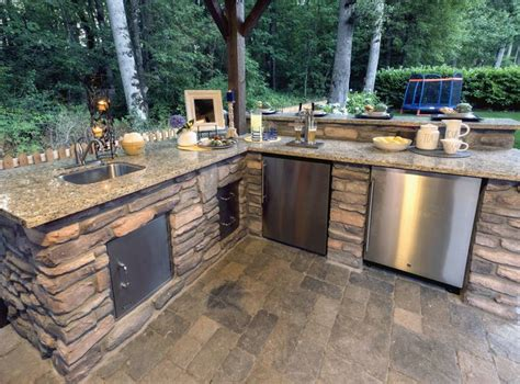 Backyard Kitchen And Tap Sink Tap And Fridge Http Www