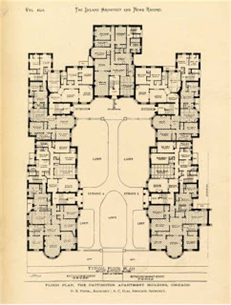 Courtyard Apartment Floor Plans Ultra Local Geography Typology Of Courtyard Apartments In