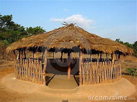 hutte indienne open indian hut royalty free stock image image 3449006