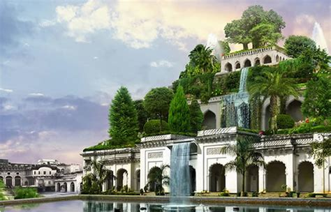 hanging gardens existed    babylon history