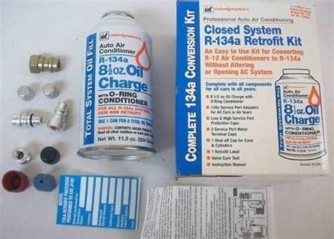 c3 c4 corvette 1977l 1987 air conditioning a c refrigerant retrofit kit r134a corvette mods