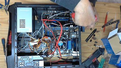 montage d un pc de bureau montage d un ordinateur fixe 224 partir de pi 232 ces d 233 tach 233 es