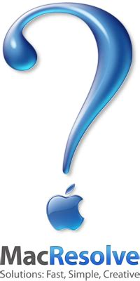 apple question mark about us macresolve
