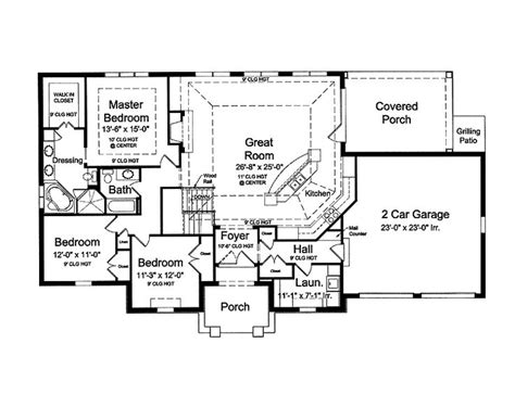 open floor plan house plans 165 best houseplans images on pinterest architecture