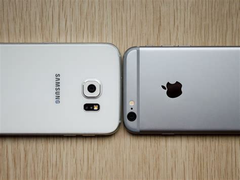 samsung galaxy s6 versus iphone 6 shootout android central