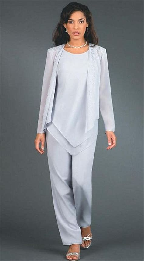 Plus Size Dressy Pant Suits For Weddings | ursula plus size wedding mother dressy pant suit 41114