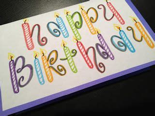 simple happy birthday card birthday card drawing happy