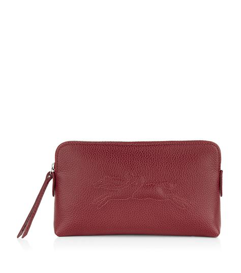 longch veau foulonne cosmetic bag in lyst