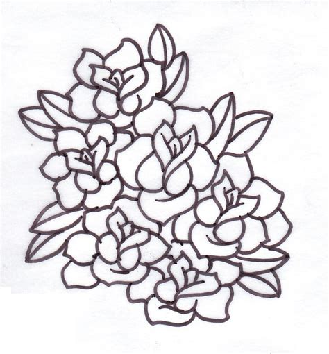 rose tattoo download free tattoos clipart best
