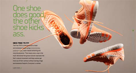 Amazing Website Design Nike Better World Nectar