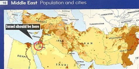 Buku Declan indah penerbit as hapus israel dari buku peta dunia
