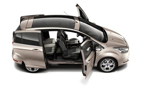 coches con puertas correderas ford b max en octubre desde 15 400 euros