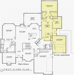 home plans with mother in law apartment