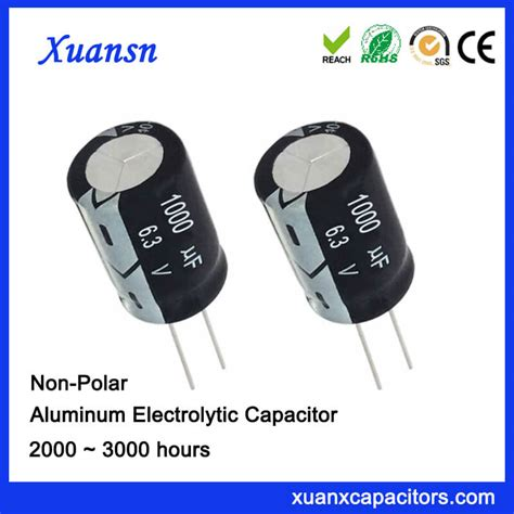 electrolytic capacitor and non electrolytic 1000uf 6 3v np best quality electrolytic capacitors