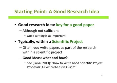 how to write a great research paper how to write scientific papers a comprehensive guide