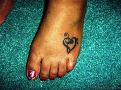 heart foot tattoos 76 tattoos on foot