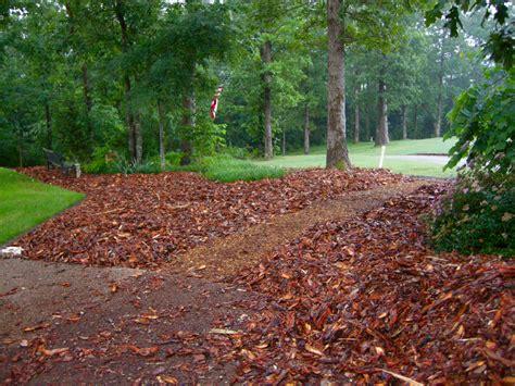 Landscape With Mulch Mulch