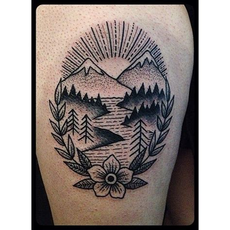 simple nature tattoos christian lanouette modifications