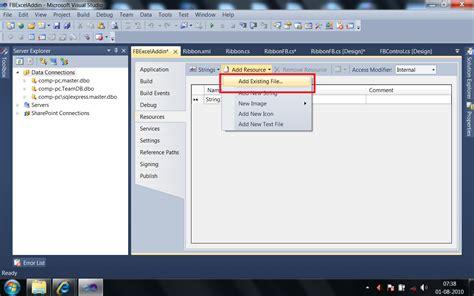 xml tutorial pdf in c net vb net add excel file as resource import excel file to