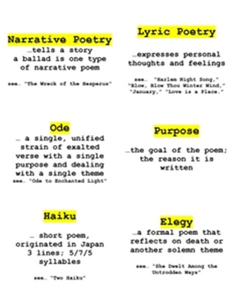 definition of narrative theme 1000 images about poetry and poetic devices on pinterest