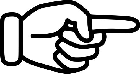 pointing finger clipart clipart pointing finger 4
