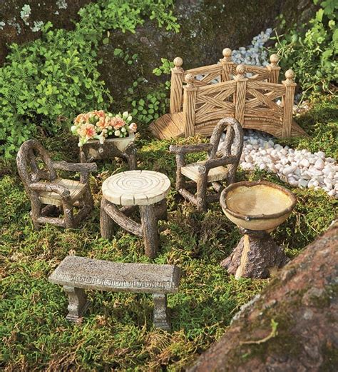 expressing your imagination with fairy garden accessories