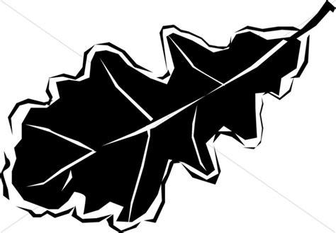 Black And White Oak Leaf Leaf Clipart Black White Oak Leaf