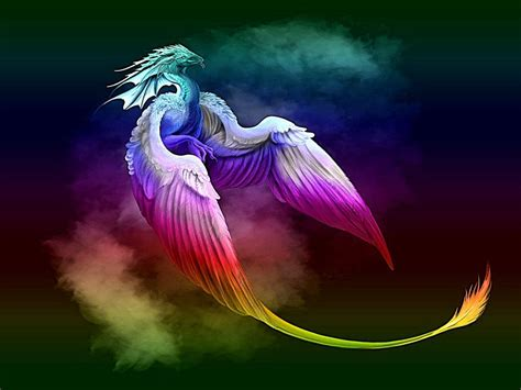 rainbow dragon wallpapers top  rainbow dragon