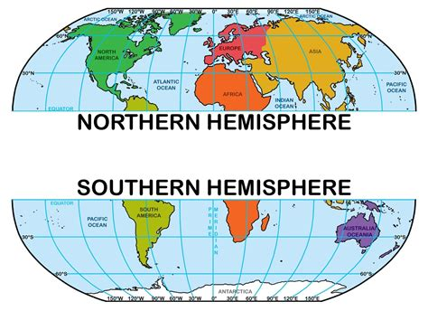 printable world map with equator and prime meridian image