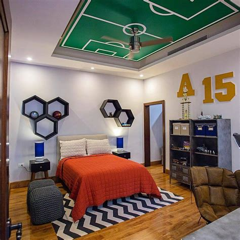 desain kamar tidur anak laki laki terbaru  ngetren