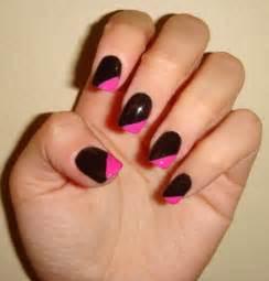 black and pink nail designs nail designs hair styles