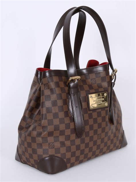Ultra Exclusive Bags From Louis Vuitton by Louis Vuitton Hstead Mm Damier Ebene Canvas Luxury Bags