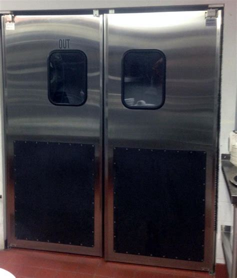 commercial kitchen double swing door selling restaurant doors stainless steel double door for