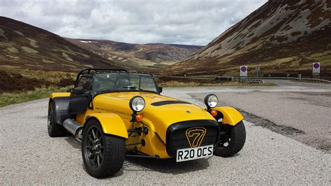 win a day driving a caterham in the scottish highlands evo