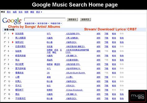 house music finder google lance la recherche de mp3 accessible uniquement en