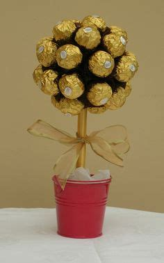 diy ferrero rocher tree ferrero rocher tree diy tree gift and chocolate bouquet