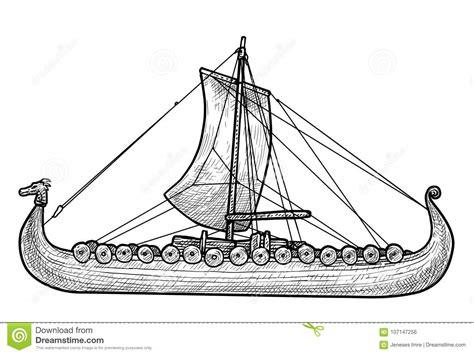 junk boat drawing junk boat illustration drawing engraving ink line art