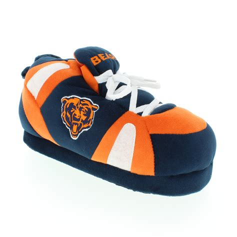 chicago bears house shoes comfy feet nfl chicago bears slippers