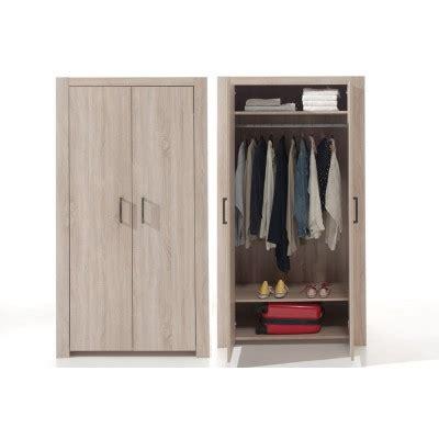 armoire ado 400 alinea chene clair chambre ado l armoire 2 portes