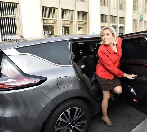 marine le pen i adore marine in a short skirt and pantyhose marine le